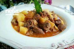 Düdüklüde Lokanta Usulü Tas Kebabı Tarifi