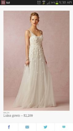BHLDN, Anthropologie's bridal line, has been a consistent favorite among bohemian and vintage-loving brides. Fall 2014 collection -- available online August 5, 2014