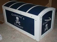 Personalised Treasure Chest Toy Box
