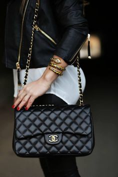 631970d64e65 My next handbag splurge will be a Chanel. I have loved this style Chanel  bag for 25 years!