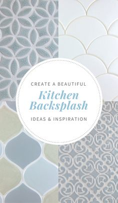 Find fresh backsplash ideas for your kitchen renovation | juleptile.com