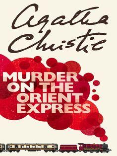 """Murder on the Orient Express"" by Agatha Christie   (petiemariespost.blogspot.com)"