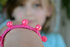Crochet beaded bracelet 10