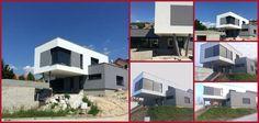 Aj takto môže vyzerať rodinný dom. Prečo nie, nám sa minimalistický dizajn páči. #house #minimalism #home #design #architecture #future #futuredesign #familyhouse
