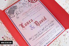 Invitaciones de boda de Juego de Tronos - Eje 360