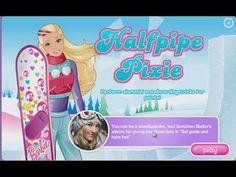 Barbie Halfpipe Pixie girl game free online