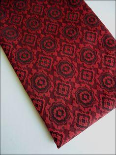 Coupon 120 x 155 cm tissu coton polyester motifs style baroque : Tissus Habillement, Déco par atomictissus