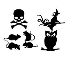 Paper, Scissors, Ink.: A couple more Halloween SVG's