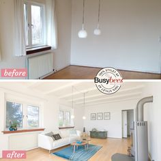 empty summerhouse in Denmark furnished and staged for sale by Busy Bees