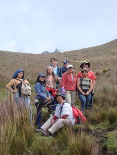 Caminando al Ruco Pichincha