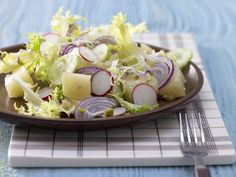 Radish-Sprouts Salad with Limburger Cheese | Eat Smarter