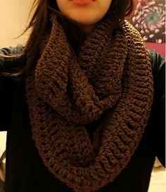 Ravelry: Men's Infinity Scarf pattern by Raeanne Harms  ...of course I don't know any man who would wear this