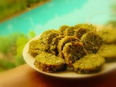 Steamed Fenugreek Slices tossed in oil and sprinkled with sesame