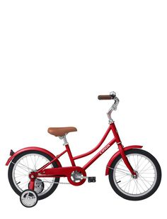 Linus Tricycle ... now all I need to do is see if I can find these training wheels for my own bike <3