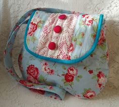 Rosalie bag made from Cath Kidston Fabric ONE DAY SALE! £20.00