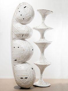 Ann Weber cardboard sculpture