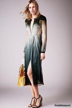 Burberry Prorsum Круизная коллекция 2015 Весенняя Мода, Подиумная Мода,  Модный Показ, Модный Дизайн 56c927b971f