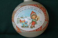 Vintage Christmas ornament, Betsy Clark, Christmas ornament,vintage 1981,Hallmark ornament