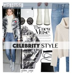 """""""Gigi Hadid"""" by goreti ❤ liked on Polyvore featuring STELLA McCARTNEY, Nili Lotan, The Row, Ivy Park, Acne Studios, GetTheLook, StreetStyle, CelebrityStyle and modelstyle"""