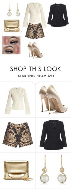 """"" by bianca-salazar97 ❤ liked on Polyvore featuring Elizabeth and James, Casadei, Alice + Olivia, Alexander McQueen, Louise et Cie, Effy Jewelry and David's Bridal"