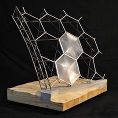 HDA | Hugh Dutton Associés - elcontexto: Structural Model: The Eden Project...