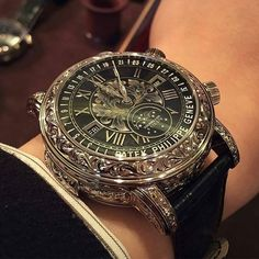 Patek Philippe ~ just beautiful. - Patek Philippe ~ just beautiful. Patek Philippe, Amazing Watches, Beautiful Watches, Cool Watches, Dream Watches, Stylish Watches, Luxury Watches For Men, Datejust Rolex, Skeleton Watches
