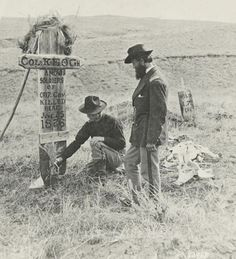 Little Big Horn photo by Stanley Morrow 1879 -- courtesy Little Bighorn Battlefield National Monument