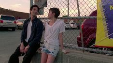 Adrien Brody and Sami Gayle in Detachment, directed by Tony Kaye