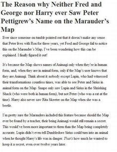 Actually the Marauders Map is a map of Hogwarts and Hogwarts only so Fred and George him while in the burrow Harry Potter World, Harry Potter Love, Harry Potter Universal, Harry Potter Fandom, Harry Potter Memes, Harry Potter Head Canon, Harry Potter Theories, James Potter, Drarry