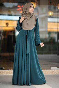 Salsabeela Muslimah Attire Boutique in Wangsa Melawati, Kuala Lumpur Arab Girls Hijab, Girl Hijab, Hijab Outfit, Muslim Women Fashion, Islamic Fashion, Abaya Style, Habits Musulmans, Abaya Fashion, Fashion Outfits