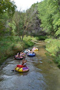 tubing on Long Pine Creek