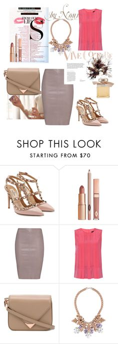 """Untitled #325"" by liiiilylove ❤ liked on Polyvore featuring Valentino, MAC Cosmetics, Dolce Vita, Jitrois, Weekend Max Mara, Alexander Wang, Ek Thongprasert and Chloé"