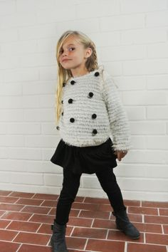 Cozy Dots Sweater (Toddler, Little Girls, & Big Girls)