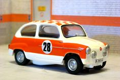 Scalextric(Tecnitoys-Altaya). SEAT 600 TC. Rally Costa Brava 1972. Salvador Servià. #slotcar