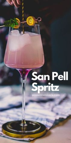 I am sharing this wonderfully elegant and delicious San Pell Spritz, taking the idea of a sparkling cocktail and making it bright and herbal. Prosecco Cocktails, Summer Cocktails, Cocktail Drinks, Refreshing Drinks, Fun Drinks, Best Non Alcoholic Drinks, Homemade Tea, Best Cocktail Recipes, The Fresh