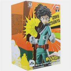 RARE My Hero Academia 3D Figure Keychain Midoriya Deku Uniform Boku No Anime