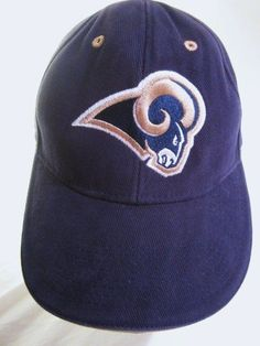 St Louis L.A.Rams Ball Cap NFL Ram Embroidered Logo Adidas Snapback Hat #LosAngelesRams #RamsRule  #StLouisRams