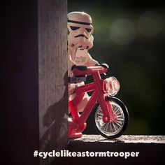 For no other reason than it can cause smiles :) Please #cyclelikeagirl to share your stories and follow @cyclelikeagirl to promote women's cycling together.  Sorry unknown @artist/photographer  great shot who ever you are! #cyclelikeastormtrooper #womenscycling #cycling #mtb #cyclocross #roadbike #trackbike #bike #bici #strava #stravacycling #uci #ucitrooper #procycling #lego #legocycling #legostarwars #starwars #stormtrooper #cyclingphotos #funnyphotos #justbecause
