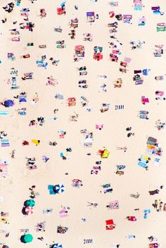 Bondi Beach, by Gray Malin, from his À la Plage series