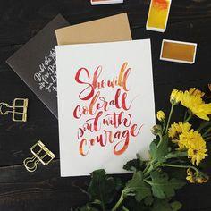 #brushlettering #qoute #motivation #Handlettering #lettering #typography #brushtype #designinspiration #goodletters  #handmadefont #moderncalligraphy #calligratype #calligraphy  #Regram via @inkscribbler
