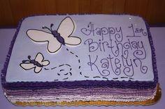 Birthday Butterfly Cake