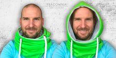 DIY: A Hooded shawl http://www.pracowniajanlesniak.pl/en/diy-a-hood-scarf/
