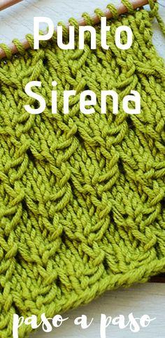 En este tutorial vamos a aprender a tejer el Punto Sirena…un punto tupido, muy bonito, con mucha textura, y muy fácil de hacer #puntosirena #dosagujas #tricot #muestrariodepuntos #aprenderatejer #palillos #tutorial #patróngratis #soywoolly Vogue Knitting, Loom Knitting, Knitting Stitches, Hand Knitting, Knitting Patterns, Crochet Patterns, Easy Origami For Kids, Origami Easy, Hand Knit Blanket