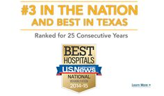TIRR Memorial Hermann #3 in the Nation and Best in Texas
