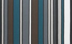 wide stripe cotton dhurrie rug  | CB2