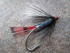 Tony Torrence's Blue Boy sea-run cutthroat fly. Use the fly on a clear sinking line or Poly Leader swung and stripped in early morning hours. It's a perfect time to fish Sea Runs in the Pacific Northwest!