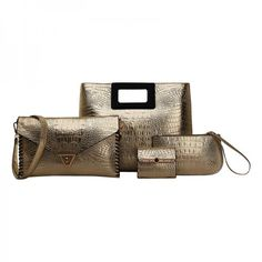 Set of Four Women Stylish Handbags