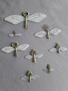 Antique Keys, Antique Metal, Harry Potter Bedroom, Cufflinks, Objects, Antiques, Collage, Inspiration, Etsy