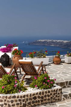 Imerovigli panoramic view, Santorini , Greece