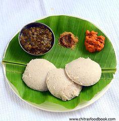 Red rice idli recipe - Healthy idli varieties for breakfast